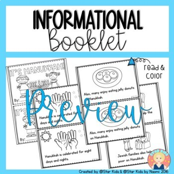 Hanukkah Activities and Printables for K-1