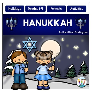 Hanukkah Activity Pack with Articles, Activities & Flip Book