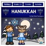 Hanukkah Activity Pack with Articles, Activities & Flip Book
