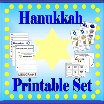 Hanukkah Activity Sheets
