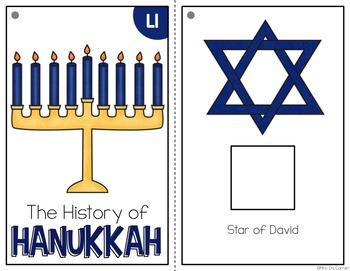 Hanukkah Adapted Book { Level 1 and Level 2 } History of Hanukkah
