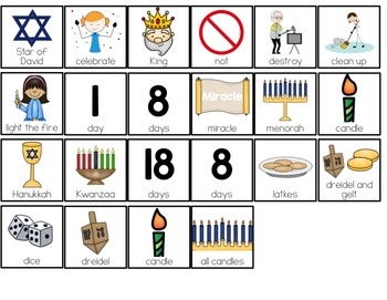 Hanukkah Adapted Book { Level 1 and Level 2 } History of Hanukkah