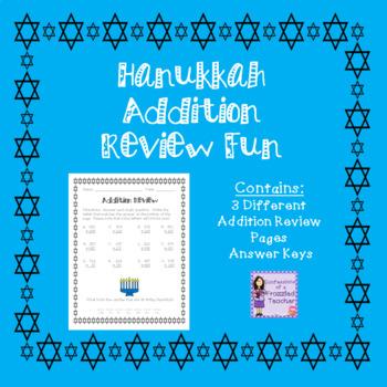 Hanukkah Addition Review Fun