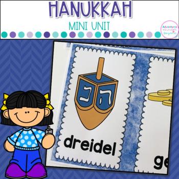 Hanukkah- Anchor Charts, Printables and Games
