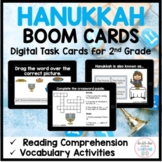 Hanukkah BOOM CARDS™ for Distance Learning (1st-2nd Grade)