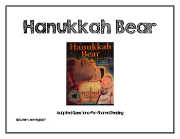 Hanukkah Bear Shared Reading