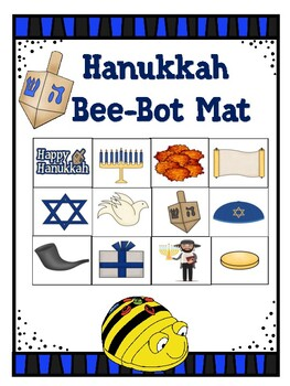 Hanukkah Bee-Bot Mat