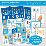 Hanukkah Bingo & Memory Game, Printable Hanukkah Game