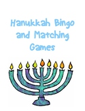 Hanukkah Bingo and Matching Games