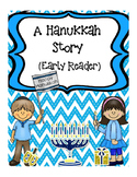 Hanukkah Book, early reader in color and black and white