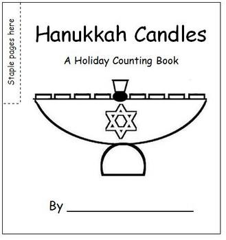 Hanukkah Candles - A Holiday Flip Book
