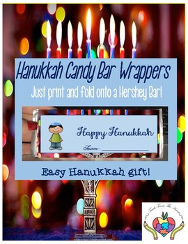 Hanukkah/Chanukah Candy Bar Wrappers FREEBIE