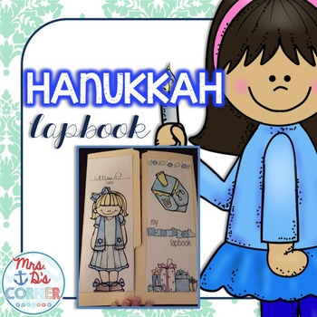 Hanukkah (Chanukah) Lapbook with 11 foldables! { Grades 2 - 5 }