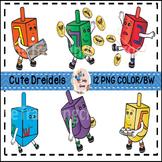 Hanukkah Clip Art (Commercial Use)