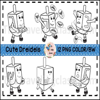 Hanukkah Clip Art (Commercial Use)