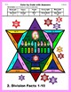 Hanukkah Color by Code: Division Facts 1-10