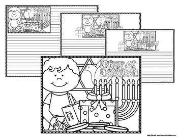 Hanukkah Coloring for Big Kids