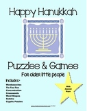 Hanukkah, Compendium of 35 Puzzles, Activities & Games