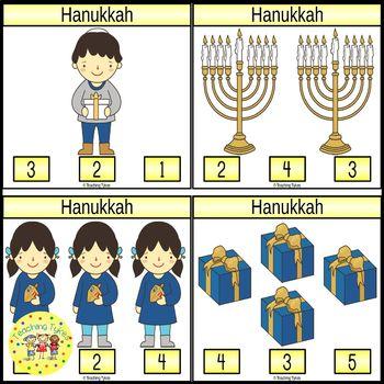 Hanukkah Clip Cards