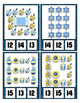 Hanukkah Counting Clip Cards Math Center ~ They Sparkle ~ Counting to 20