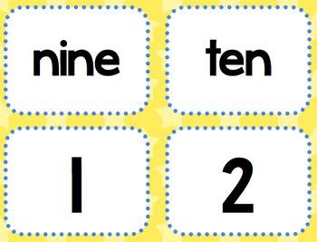 Hanukkah Counting Math Center