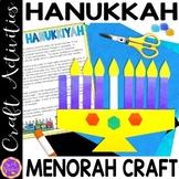 Hanukkah Craft Activity   Chanukkah Glyph   Chanukah Menorah