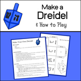 Hanukkah Craft: Make your own Dreidel