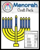 Hanukkah Craft: Number Order Menorah (Holidays Around the World)