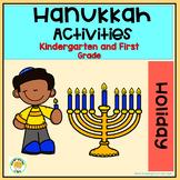 Hanukkah Craftivity, Subitizing and Comprehension Activities