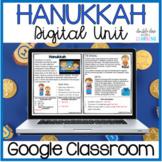 Hanukkah DIGITAL Distance Learning Unit for GOOGLE Classroom