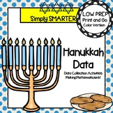 Hanukkah Data:  LOW PREP Hanukkah Themed Data Collection A