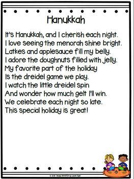 Hanukkah Dreidel Song, Poem, Poetry Writing, and Craft