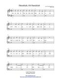 Hanukkah - Easy Piano