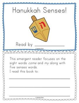 Hanukkah Emergent Reader