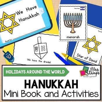 Hanukkah Emergent Reader and Activities