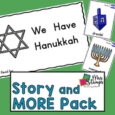 Hanukkah Emergent Reader and Activities