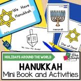 Hanukkah Emergent Reader and Activities: Holidays Around t