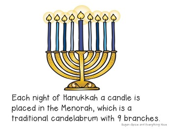Hanukkah Differentiated Emergent Readers w/Vocab~Holidays Around the World