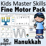 Hanukkah Fine Motor Activities Pack - (With Math and Sight Words)