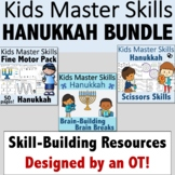Hanukkah Fine Motor, Scissors Skills, and Brain Break Bundle