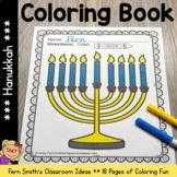Hanukkah Coloring Pages - 18 Pages of Hanukkah Coloring Book Fun