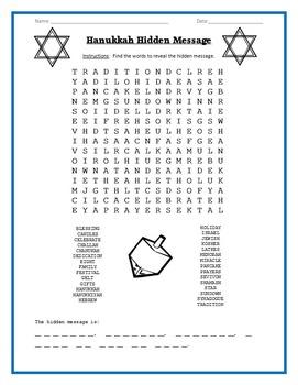 Hanukkah Fun and Learning