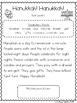Hanukkah! Hanukkah! CCSS Aligned Leveled Reading Passages and Activities