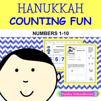 Hanukkah: Hanukkah Counting Fun 1-10