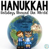 Hanukkah Informational Text: Main Idea, Comprehension Questions, Facts