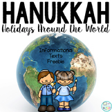 Hanukkah Informational Text: Main Idea, Comprehension Ques