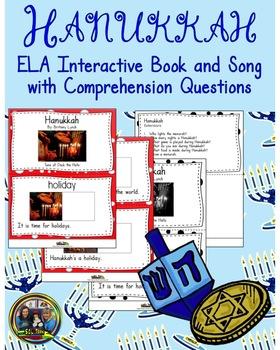 Hanukkah Interactive Book and Song