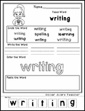 Hanukkah Kid - Editable Word Worksheet w/ Theme Focus
