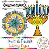 Hanukkah Coloring Pages Mandala