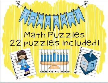 Hanukkah Math Puzzles
